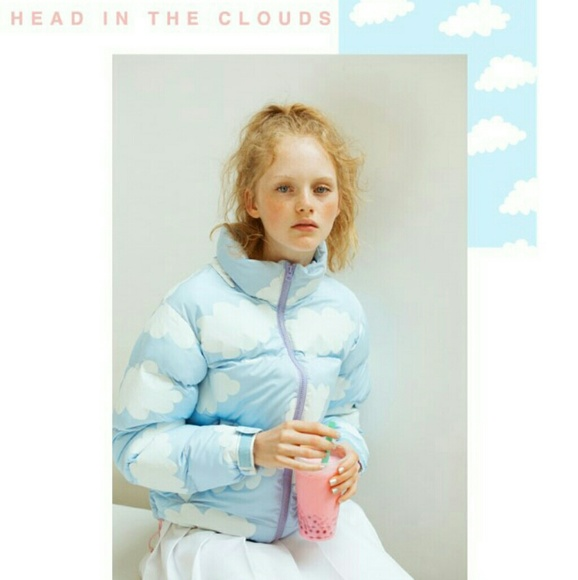 74d1beb1291f Lazy Oaf Jackets   Blazers - Lazy Oaf Cloud Puffer Jacket